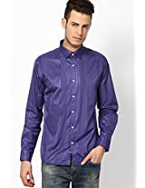 Purple Full Sleeve Casual Shirt