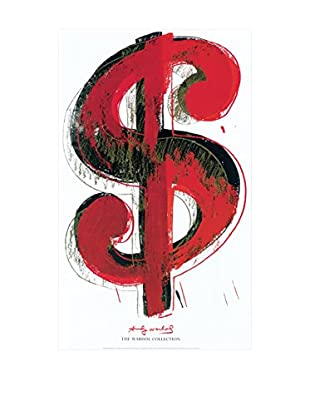 ArtopWeb Panel de Madera Warhol Dollar Sign, 1981 - 90x60 cm