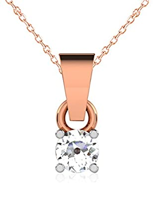 Friendly Diamonds Conjunto de cadena y colgante FDP6256R Oro Rosa