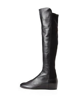 Stuart Weitzman Women's Mainline Boot (Black Nappa)