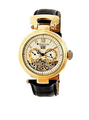 Heritor Automatic Uhr Ganzi Herhr3303 schwarz 48  mm