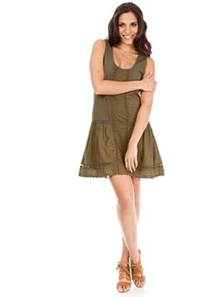 Cortefiel Kleid (Khaki)