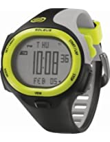 Soleus SR008 P.R. Grey Digital Dial with Black and Grey Polyurethane Strap Watch, Men's