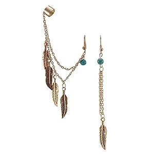 Habors Resin Dangle & Drop Earring For Women (Silver)