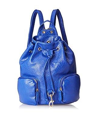 Nila Anthony Women's Mixed Metal Cap Backpack, Blue