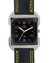 Maxima Attivo Analog Black Dial Men's Watch 22771LMGI