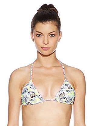 Juicy Couture Bikini-Oberteil Hang Ten (gelb/blau)