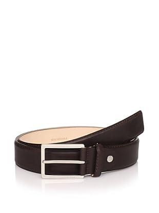 S.T. Dupont Men's Adjustable Strap Belt, Brown, One Size
