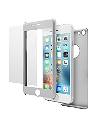UNOTEC Schutz-Set iPhone 6/6S grau
