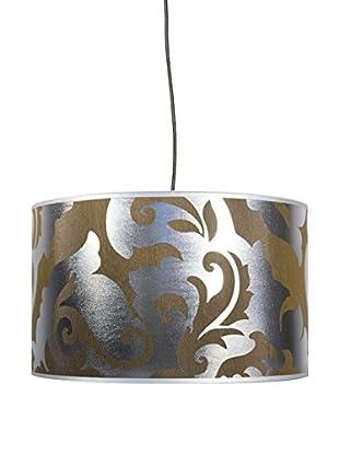 Creative-Cables Sospensione Con Paralume silver arabesque