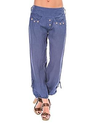 100% lino Pantalone Kelly