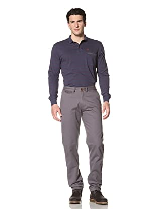 Marshall Artist Men's Vintage Flat-Front Chino Pant (Gunmetal Grey)