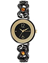 Sonata Analog Black Dial Women's Watch (8136NM01)