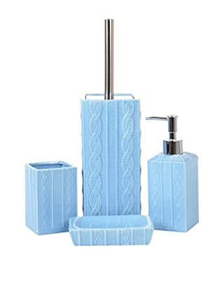 Welcome Home Set Accessori Bagno Blu