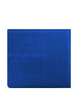 Manterol Alfombra Baño Rizo Algodón (Azul Oscuro)