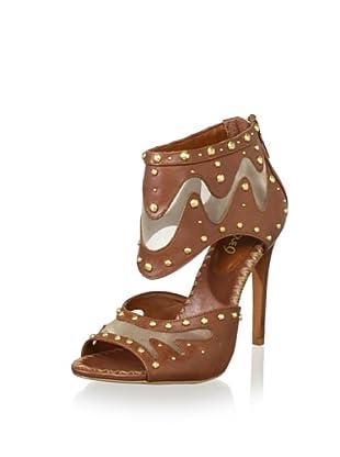 Boutique 9 Women's Tysha High Heel Sandal (Cognac)