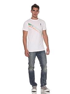 Plain Jane Homme Men's Captain T-Shirt (White)