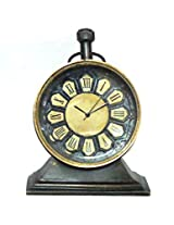Antique Brass Table Clock