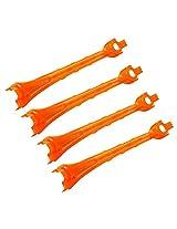 Traxxas 6653 Orange Alias LED Lenses (set of 4)