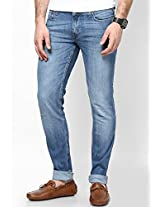 Light Blue Skinny Fit Jeans (Low Bruce)