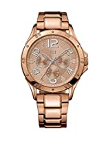 Tommy Hilfiger Analog Gold Dial Women's Watch - TH1781171/D