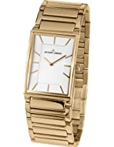 Jacques Lemans Analog White Dial Women's Watch - 1-1755D