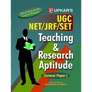 U.G.C.-NET/JRF/SET Teaching & Research Aptitude - General Paper 1