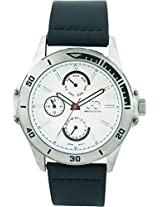 Gio Collection Analog White Dial Men's Watch - G0049-02