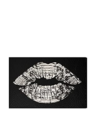 Oliver Gal Leather Kisses Canvas Art