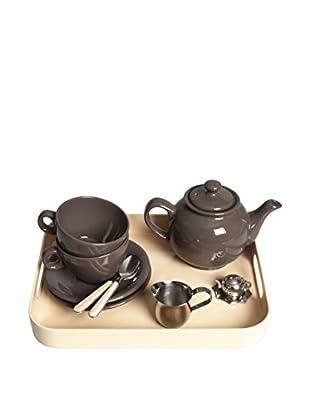 Molecuisine Tee Service 5 tlg. Set Classic Tea Time schokolade/creme