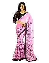 DivyaEmporio Saree with unstitched Blouse