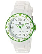 Burgmeister Men's BM603-586C White Sport Analog Watch