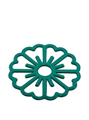 Old Dutch International Bloom Trivet, Emerald Green