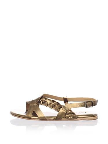 Fiel Women's Cedros Braided Sandal (Bronze)