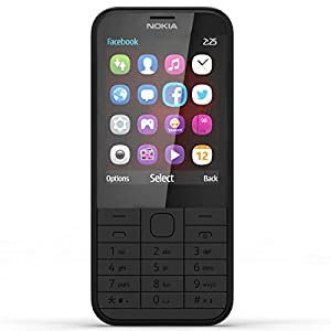 Nokia 225 (Dual SIM, Black)