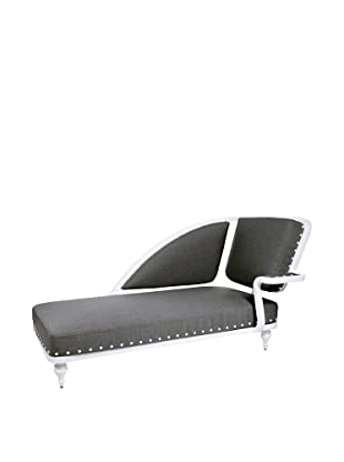 Grange Paris Meridienne Right Chaise, White