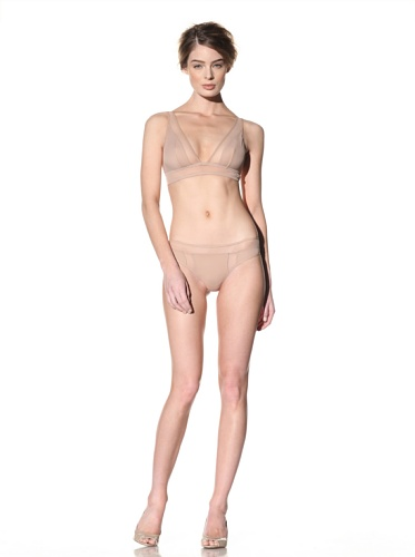 Addiction Women's Mesh Back Tanga (Nude)
