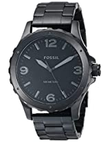 Fossil Analog Black Dial Men's Watch - JR1458