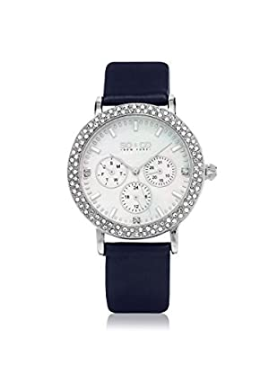 SO&CO Women's 5216L.2 Madison Navy/White Leather Watch