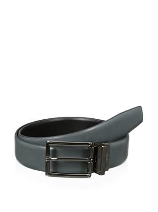 XMI Men's Brooklyn Reversible Belt (Grey/Black)