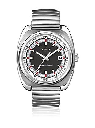 TIMEX Reloj de cuarzo Unisex Unisex Classic Grey Ash Plateado 34 mm