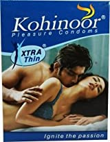 Kohinoor Xtra Thin 3 Condoms (TTK-LIG)