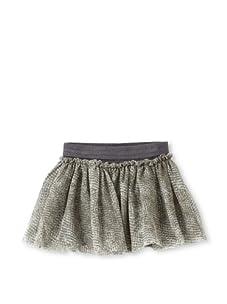 Saurette Girls Mesh Ballet Skirt (Coal Animal)