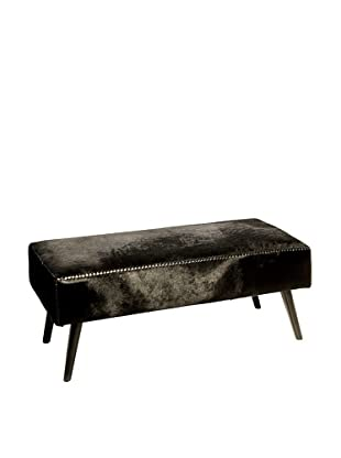 Foreign Affairs Pure Bench Made From Dark Brown Cowhide
