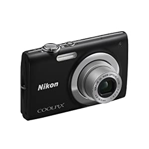 Nikon COOLPIX S2500 Point & Shoot Camera with 12.2MP, 18x Optical Zoom and 3 inch Screen (Black)