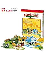 3d Puzzle Animal Forest