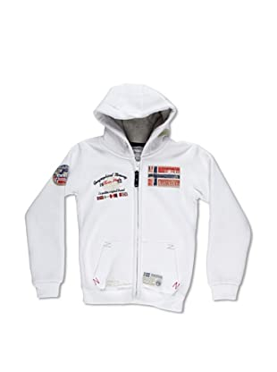 Geographical Norway Sudadera Glasquow (Blanco)