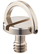 "Neewer® Stainless Steel D Shaft D-ring 1/4"" Mounting Screw 0.35""/9mm Shaft for Camera Tripod Monopod or Quick Release (QR) Plate"