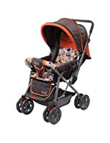 Luvlap Sunshine Baby Stroller 1003 B - Orange