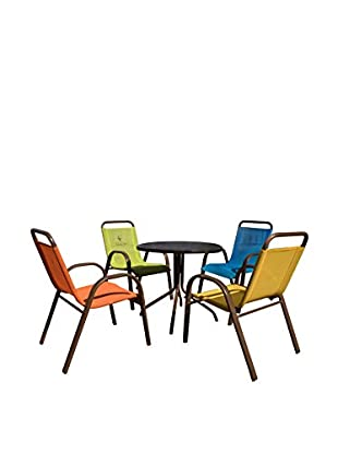 Panama Jack Kids 5-Piece Dining Set, Espresso